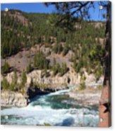 Kootenai Falls, Montana Acrylic Print