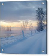Kootenai River Road Acrylic Print