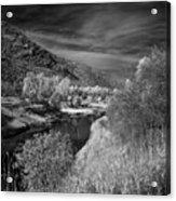 Kootenai Wildlife Refuge In Infrared 4 Acrylic Print