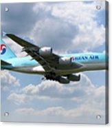 Korean Air Airbus A380 Acrylic Print