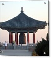 Korean Friendship Bell 0559 Acrylic Print
