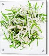 Korean Traditional Fresh Vegetable Salad Acrylic Print