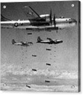 Korean War: B-29 Bombers Acrylic Print
