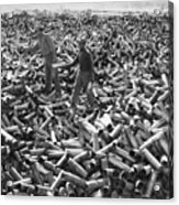 Korean War: Shell Casings Acrylic Print