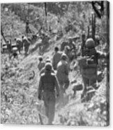 Korean War: Triangle Hill Acrylic Print