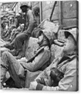Korean War: U.n. Troops Acrylic Print