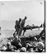 Korean War: Wounded Acrylic Print