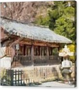 Kotoku-in Temple Acrylic Print