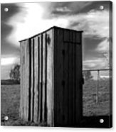 Koyl Cemetery Outhouse Acrylic Print