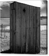 Koyl Cemetery Outhouse5 Acrylic Print