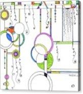 Kp Spirals Acrylic Print