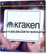 Krakensupportnumber Acrylic Print