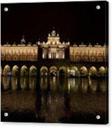 Krakow Cloth Hall Acrylic Print