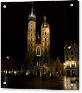 Krakow Saint Marys Basilica Acrylic Print