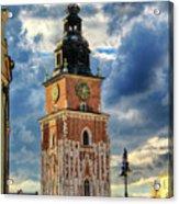 Krakow Town Hall Acrylic Print