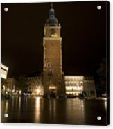 Krakow Town Hall Tower Acrylic Print