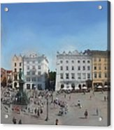 Krakow, Town Square Acrylic Print