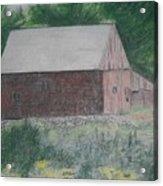Krashes Barn Acrylic Print