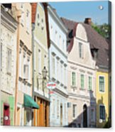 Kreme City Street Acrylic Print