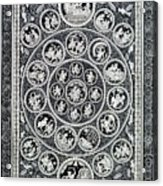 Krishna Leela 3 Acrylic Print