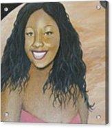 Kristy Aphrodite Of Venus Acrylic Print