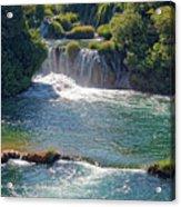 Krka National Park Waterfalls 5 Acrylic Print