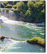 Krka National Park Waterfalls 6 Acrylic Print