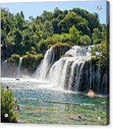 Krka National Park Waterfalls 9 Acrylic Print
