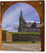 Kronborg Castle Through The Archway Acrylic Print