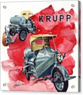 Krupp Street Sweeper Acrylic Print