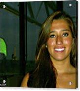Krystal In Paris Acrylic Print
