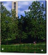 Ku Carrilon Tower Acrylic Print