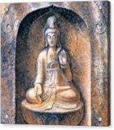 Kuan Yin Meditating Acrylic Print