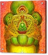 Kuan Yin's Buddha Crown Acrylic Print