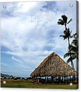 Kukulu Hale Kahului Maui Hawaii Panorama Acrylic Print