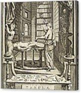 Kulmus About Perform Autopsy, 18th Acrylic Print