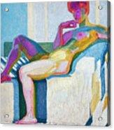 Kupka Planes Nude Acrylic Print