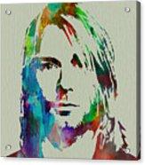 Kurt Cobain Nirvana Acrylic Print