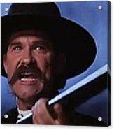 Kurt Russell As Wyatt Earp  In Tombstone 1993 Acrylic Print