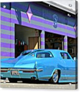 Kustom On The Riviera  Acrylic Print
