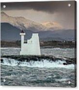 Kvitholmen Lighthouse Acrylic Print