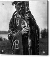 Kwakiutl Chief, C1914 Acrylic Print