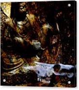 Kwan Yin Meditates Acrylic Print