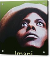 Kwanzaa Imani Acrylic Print by Shaboo Prints