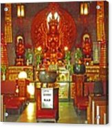 Kwon Yin Temple 1 Acrylic Print