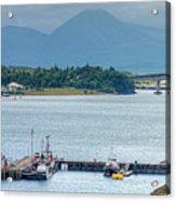Kyle Of Lochalsh And The Isle Of Skye, Acrylic Print