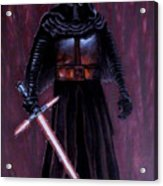 Kylo In Red Acrylic Print