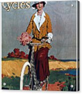 Kynoch Cycles - Bicycle - Vintage Advertising Poster Acrylic Print