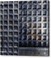 Kyoto Doorways In Blue Series 2 Acrylic Print