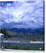 Kyrgyzstan Mountains Acrylic Print